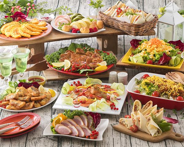 料理プランは選べる3タイプ