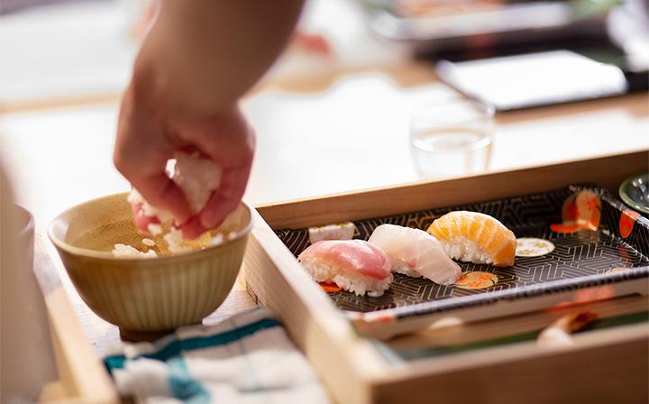 お寿司握り体験