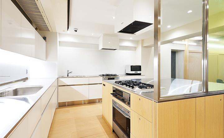 設備・備品が充実したキッチンで、料理を存分に