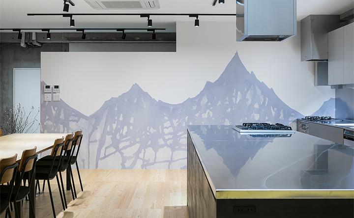 デザイン性の高い空間で、普段とは違うひと時を